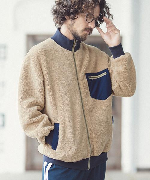 【おまけ付】 mj6568-Boa Rib Blouson Blouson (MADE IN IN JAPAN) (MADE ブルゾン(ブルゾン)|ANGENEHM(アンゲネーム)のファッション通販, kireio:4a27f98f --- strange.getarkin.de