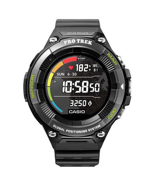 【期間限定送料無料】 PRO TREK Smart(プロトレック スマート) / WSD-F21HR-BK, エビススリー 2abd1c71