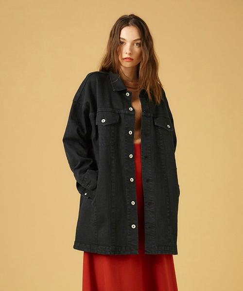 一流の品質 COEL×YANUK デニムジャケット ブラック(デニムジャケット)|COEL(コエル)のファッション通販, カンザキバイク:0208dbf4 --- ulasuga-guggen.de
