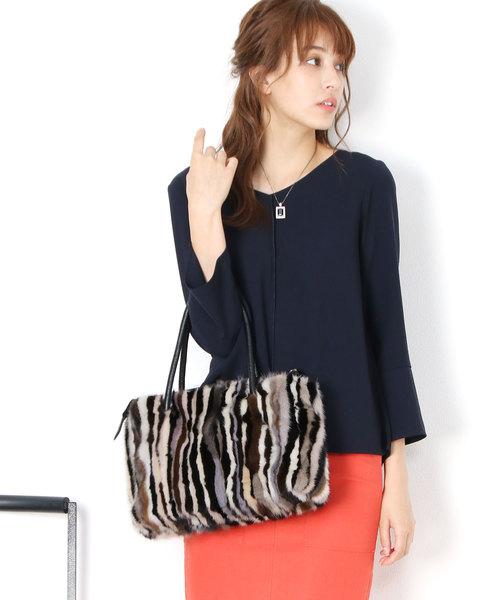 贈り物 sankyoミンクファーハンドバッグ(ハンドバッグ) sankyo shokai(サンキョウショウカイ)のファッション通販, でらアウトレット-メンズブランド:ae02dc71 --- 888tattoo.eu.org