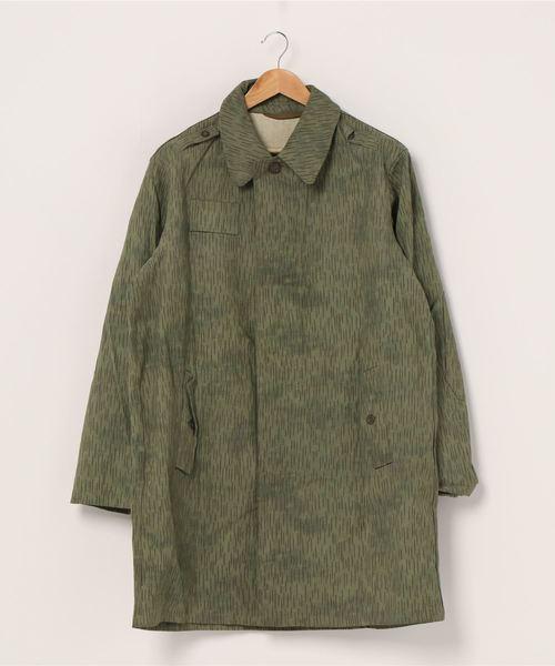 【 DeadStock Czech Army / チェコ軍 】 レインドロップカモコート Rain Drop Camo Coat デッドストック チェコスロバキア軍 レインドロップカモコート