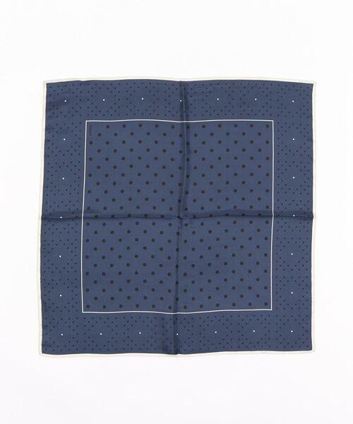 【MANIPURI/マニプリ】SILK スカーフ 65*65
