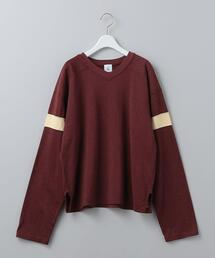 <6(ROKU)>FOOT BALL LONG SLEEVE T-SHIRT/Tシャツ
