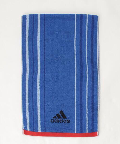 【 adidas / アディダス 】 スポーツタオル 2色ストライプ 063629150M TOB