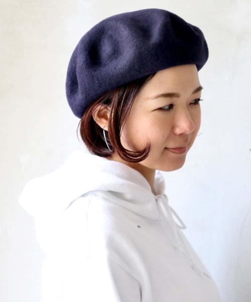 □ ベレー帽 ウールベレー/WOOL BERET