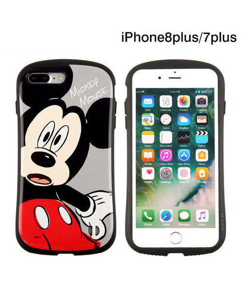 wholesale dealer 5d7e9 3e879 iPhone 8 Plus ケース iphone 7 Plus ケース ディズニーキャラクターiFace First Class ミッキー ミニー  リボン