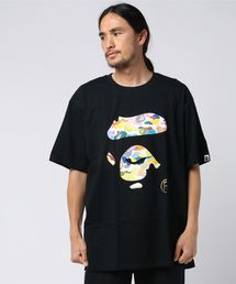 A BATHING APE(アベイシングエイプ)のMULTI CAMO APE FACE TEE M(Tシャツ/カットソー)