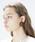 THEATRE PRODUCTS(シアタープロダクツ)の「ラウンドカボション ピアス(ピアス(両耳用))」|ブラウン