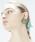 THEATRE PRODUCTS(シアタープロダクツ)の「ラウンドカボション ピアス(ピアス(両耳用))」|グリーン