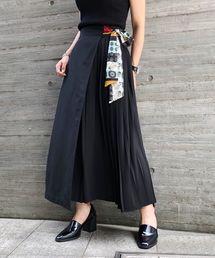 PAGEBOY(ページボーイ)のスカーフサイドプリーツスカート(スカート)