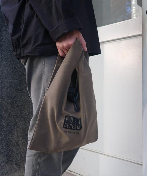 BICASH(ビカーシ)の「【BICASH/ビカーシ】コンビニバッグ/#P/G 002(エコバッグ/サブバッグ)」 オリーブ
