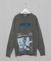 <C.E>FLIGHT LONG SLEEVE T-SHIRT/Tシャツ.