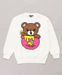 HONEY BEAR スウェット【L】ホワイト系その他2