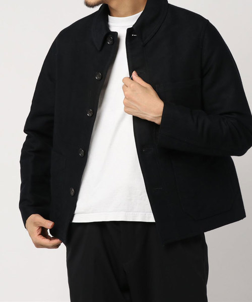 【tim.】 cotton satin jacket