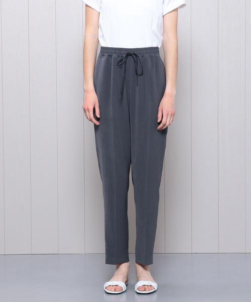 <H>DRAWSTRING TAPERED PANTS/パンツ