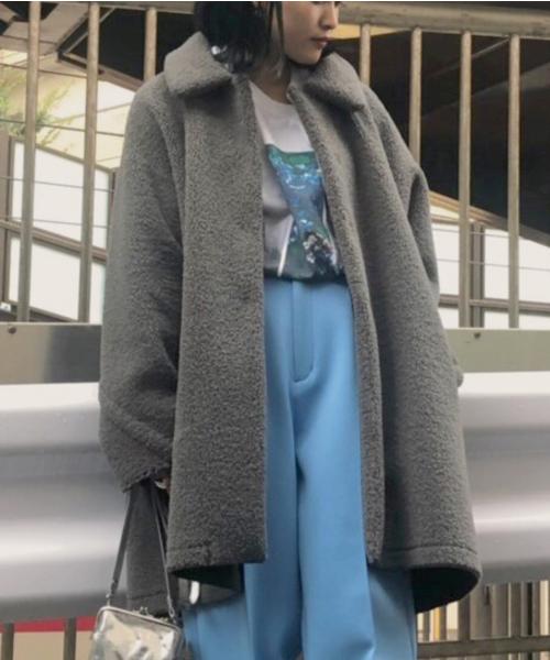 超高品質で人気の TENT LINE BOA LINE COAT(ステンカラーコート) BOA Ameri|AMERI(アメリ)のファッション通販, JAPANインナーstore:b8317a6c --- munich-airport-memories.de