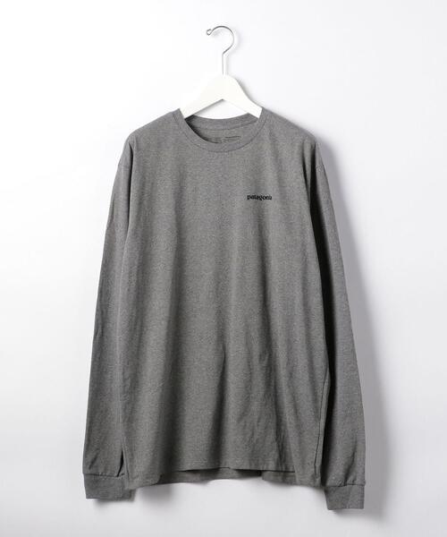 [ パタゴニア ] ★ patagonia 12 メンズ ロングスリーブ P-6 ロゴ レスポンシビリティー / Tシャツ
