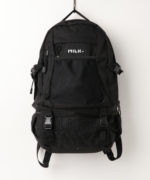 496700087abb (ミルクフェド)のEMBROIDERY BIG BACKPACK BAR(バックパック/リュック