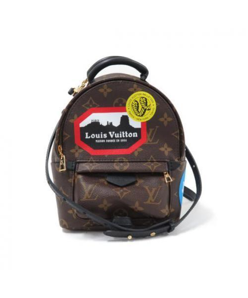 7ca0e36a86a6 LOUIS VUITTON(ルイヴィトン)の古着「パームスプリングス バックパック ミニ(リュック