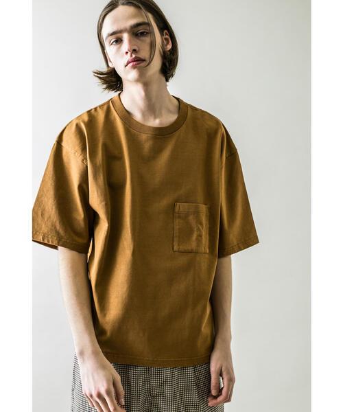 <monkey time> 21TENJIKU CROPPED 1P TEE/クロップドTシャツ