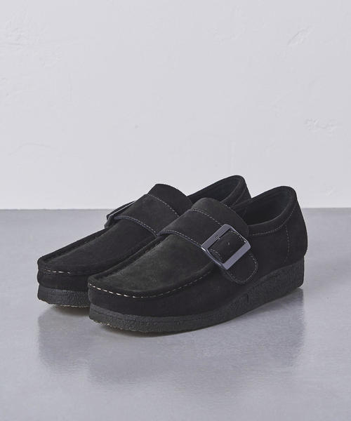 <Clarks(クラークス)> Wallabee Monk†