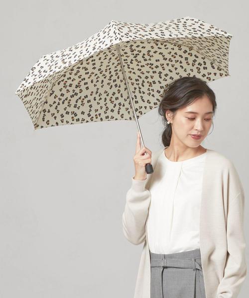 <w.p.c> レオパード 折りたたみ傘