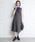 clear(クリア)の「≪2019AW新作≫サイドベルトジャンパースカート(ワンピース)」|チャコールグレー