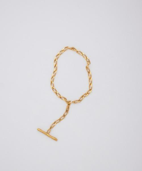 <Preek>YU-KIN LARIETTE BRACELET GOLD PLATED/ブレスレット