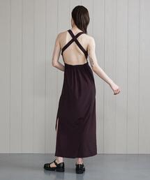 <H>BRA TANK DRESS/ワンピース