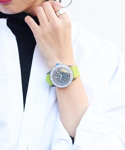 a0d301d454 russet(ラシット)のLAUGH WATCH 20BAR(ダイバー)(腕時計)