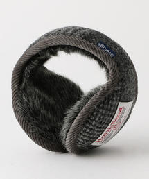 <average> EAR MUFF HARRIS TWEED 2/イヤーマフ ◆