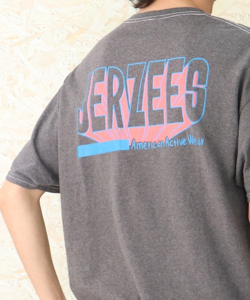 【 JERZEES / ジャージーズ 】TA ART BACK LOGO Tee ロゴ  Tシャツ