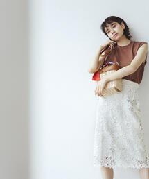 【EMMEL REFINES】◆FC ケミカルレース Iラインスカート