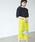 EMMEL REFINES(エメルリファインズ)の「【EMMEL REFINES】◆FC ケミカルレース Iラインスカート(スカート)」|ライム