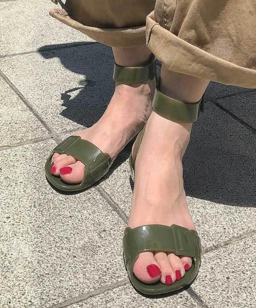 HUNTER(ハンター)の「Hunter Original Sandal(サンダル)」|オリーブ