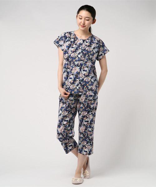 注目ブランド キッドブルー -ガーデンフラワーpt -半袖パジャマ -KNMK365 -半袖パジャマ -kidblue(ルームウェア/パジャマ)|KID -KNMK365 BLUE(キッドブルー)のファッション通販, フジミムラ:ba847b3d --- blog.buypower.ng
