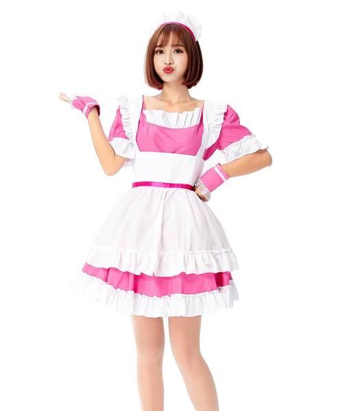 コスプレ·ハロウィン衣装/メイドD