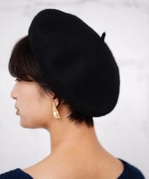 GIORDANO(ジョルダーノ)の[GIORDANO]ウールベレー帽(ハンチング/ベレー帽)