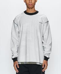 <STAMPD>Camo LS Box Tee/カットソー