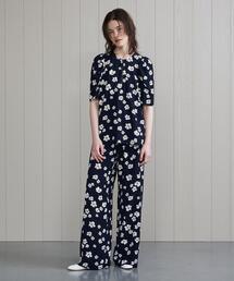 <BAUM UND PFERDGARTEN>FLOWER PRINT PANTS/パンツ.