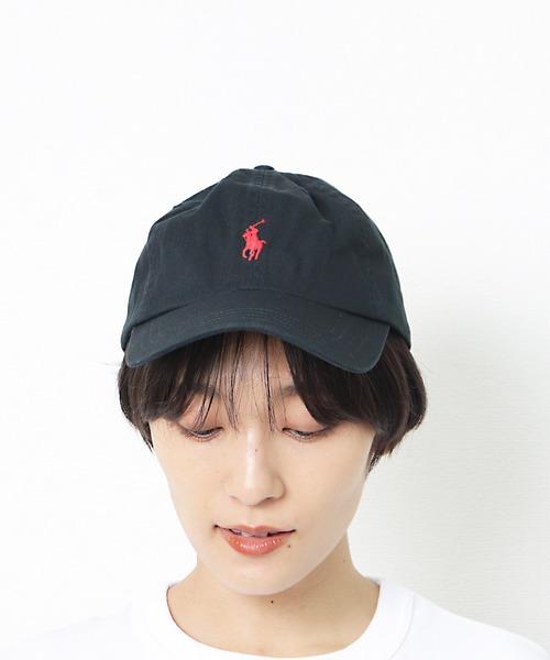 【 POLO RALPH LAUREN / ポロラルフローレン 】クラシック ロゴ刺繍 キャップ RYZ