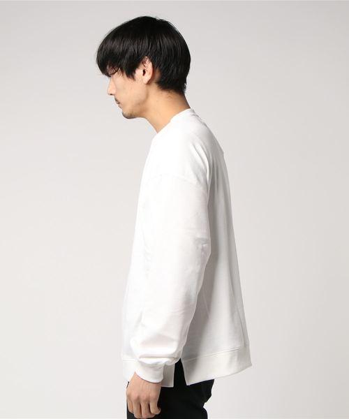 PANHARD/パンハード T/C裏毛BIGトレーナー