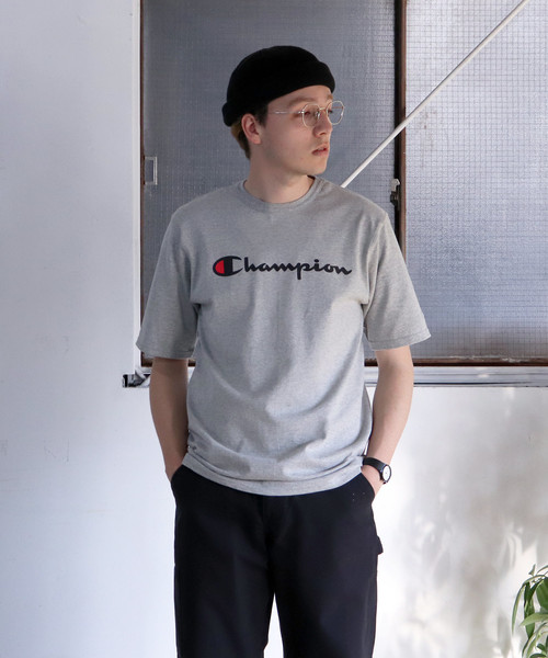 【Champion/チャンピオン】 HERITAGE TEE - INK GRAPHICS FULLLOGO PRINT