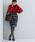 ViS(ビス)の「シャギーチェックタックスカート(スカート)」|詳細画像