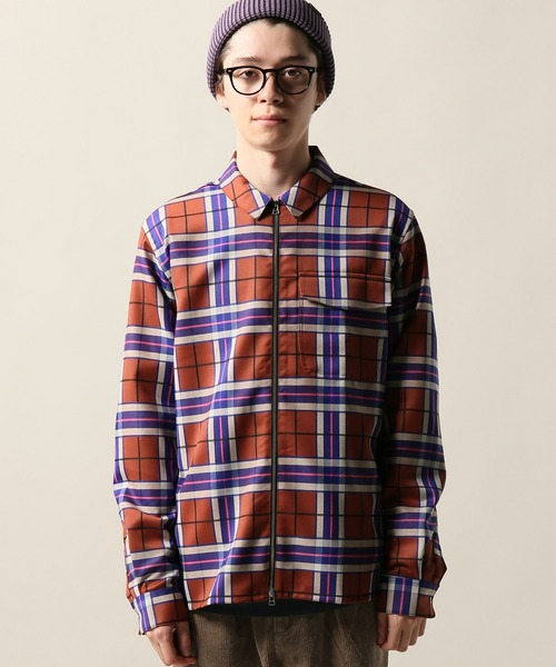 SCHNAYDERMANS / シュナイダーマンズ Zipshirt Virgin Wool Larg