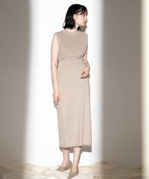 SENSE OF PLACE by URBAN RESEARCH(センスオブプレイスバイアーバンリサーチ)のメランジニットスカート(スカート)