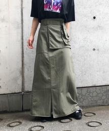 PAGEBOY(ページボーイ)のエプロンポケットミリタリースカート(スカート)