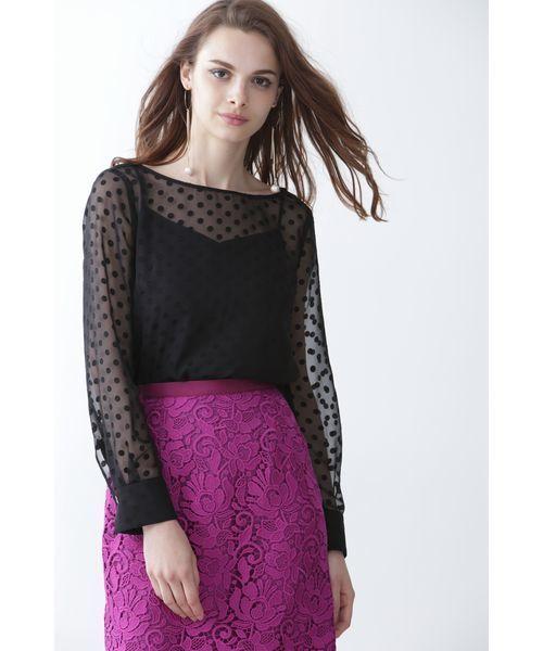 都内で 【セール】ドットオパールボートネックブラウス(シャツ/ブラウス)|PINKY&DIANNE(ピンキーアンドダイアン)のファッション通販, メイワマチ:1a9e88fa --- blog.buypower.ng