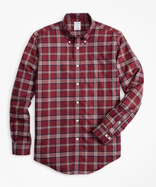 日本製 ノンアイロン Brothers ツイル ツイル シグネチャータータン カジュアルシャツ Regent Regent Fit(シャツ/ブラウス)|BROOKS BROTHERS(ブルックスブラザーズ)のファッション通販, ソラチグン:70c46d84 --- 5613dcaibao.eu.org