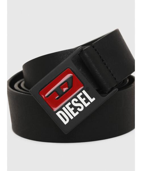 DIESEL(ディーゼル)の「メンズ クラシックロゴバックル ベルト(ベルト)」|詳細画像